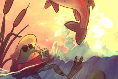fishand-frog