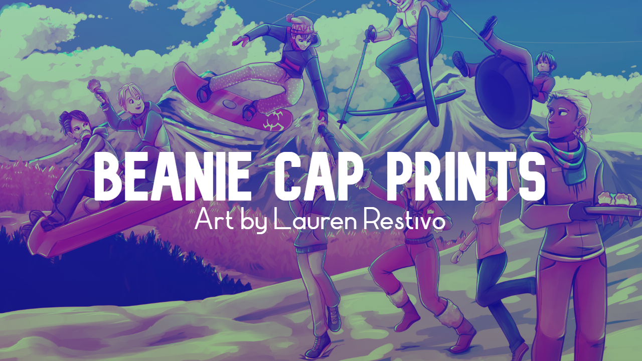 Beanie Cap Prints